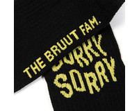 Bruut Sorry Sock Black BT012