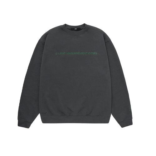Capital Logo Sweatshirt Charcoal LMC206