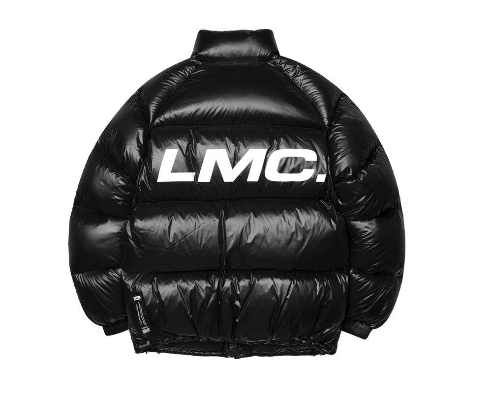 LMC Oblique Light Down Parka Black LMC2012