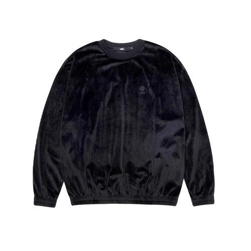 Velour Oversized Sweatshirt Black LMC2011