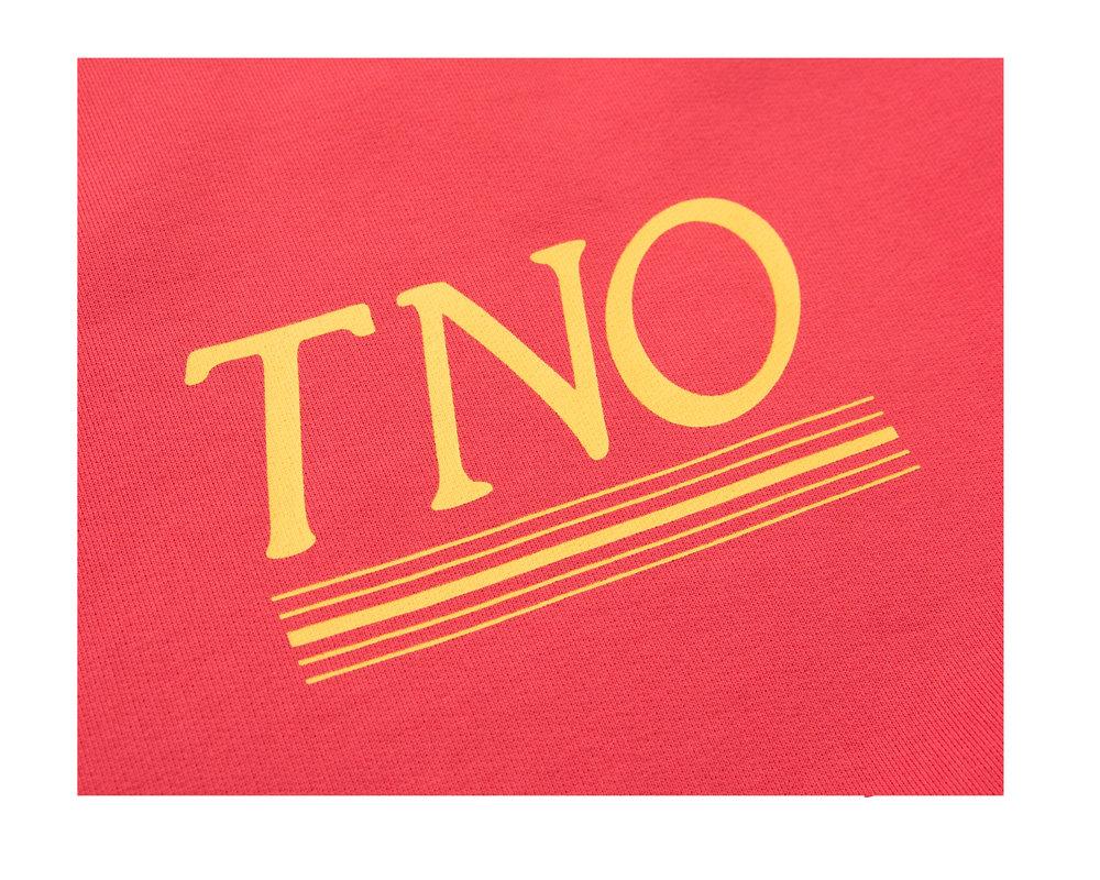 The New Originals Underline Sweater Burgundy TNO64