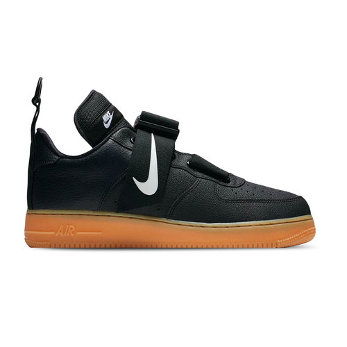 Air Force 1 Utility Black White Gum Med Brown AO1531 002