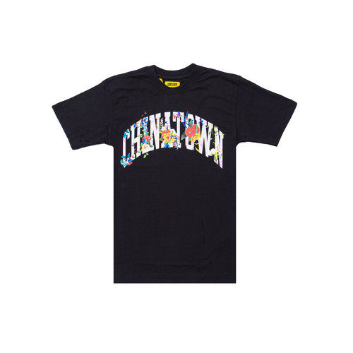 Flower Arc Tee Black 1990269 0001