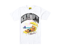 Chinatown Market Smiley Beach Bear Tee White 1990270 1201