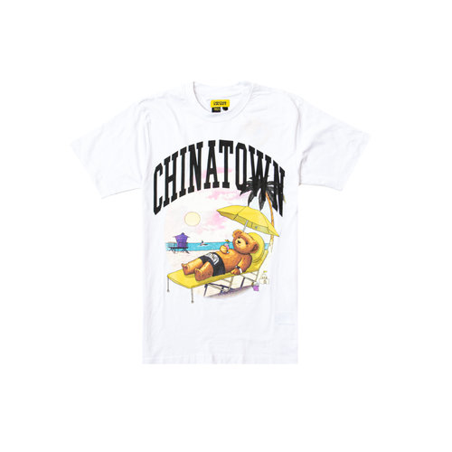 Smiley Beach Bear Tee White 1990270 1201