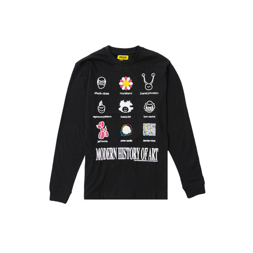 Modern Art LS Tee Black 1980007 0001