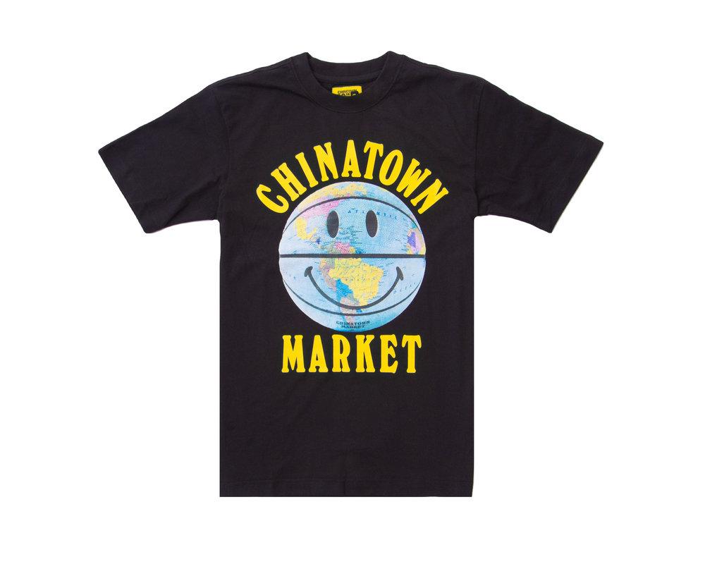 Chinatown Market Smiley Globe Ball Tee 1990276 0001