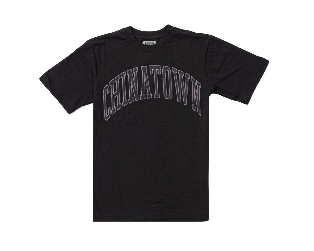 Chinatown Market Corduroy Tee Black 1990005 0001