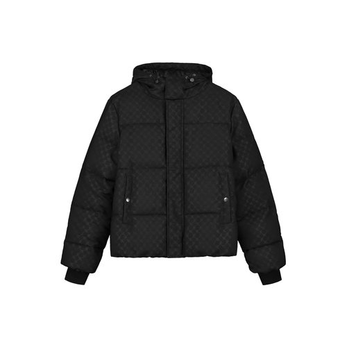 Hopuff Jacket Black Monogram 2021316 4