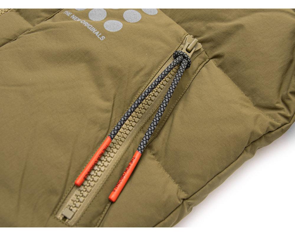 The New Originals Cloud Nine Dots Puffer Jacket Green TNO66