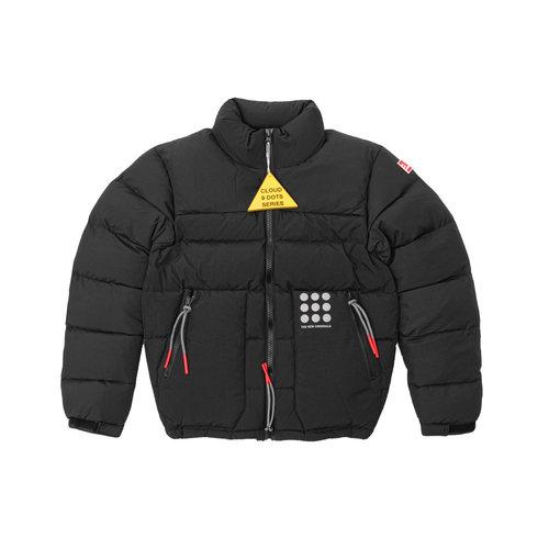 Cloud Nine Dots Puffer Jacket Black TNO67
