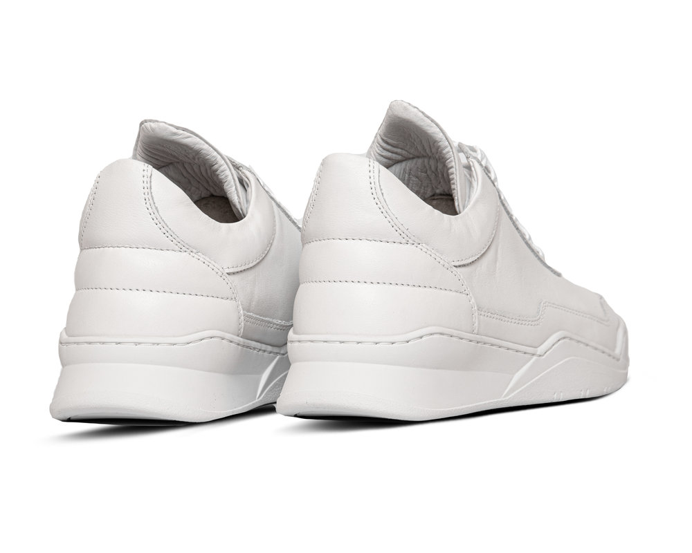 Filling Pieces Low Top Ghost White 1012063 1812