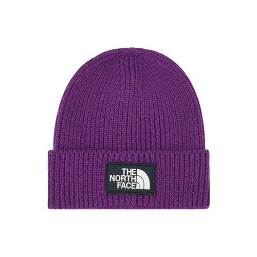 Logo Box Cuf Beanie Peak Purple NF0A3FJXNL4