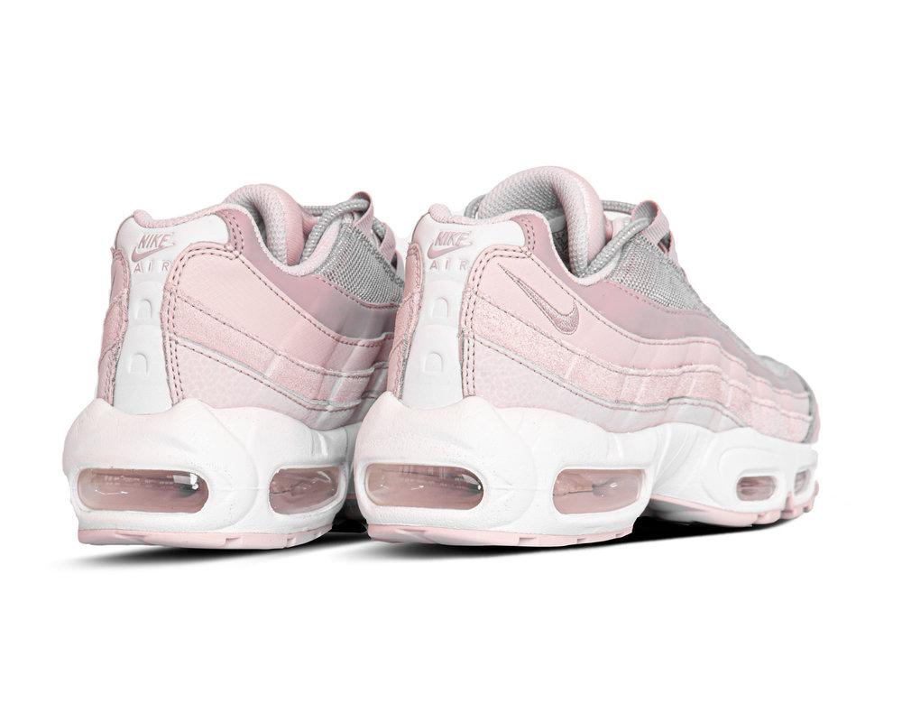 Nike Wmns Air Max 95 Barely Rose Plum Chalk Silver Lilac CI3710 600
