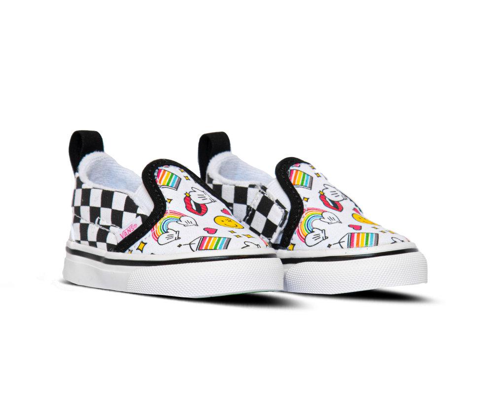 Vans Slip On V TD Flour Shop Icons Checkerboard VN0A34882NI
