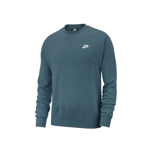 NSW Club Fleece Crewneck Ash Green White BV2662 058