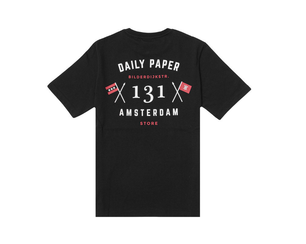 Daily Paper Amsterdam Store Tee Black 2021346 04