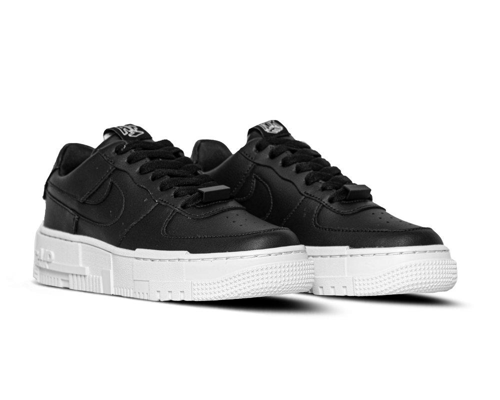 Nike Wmns Air Force 1 Pixel Black White Black CK6649 001