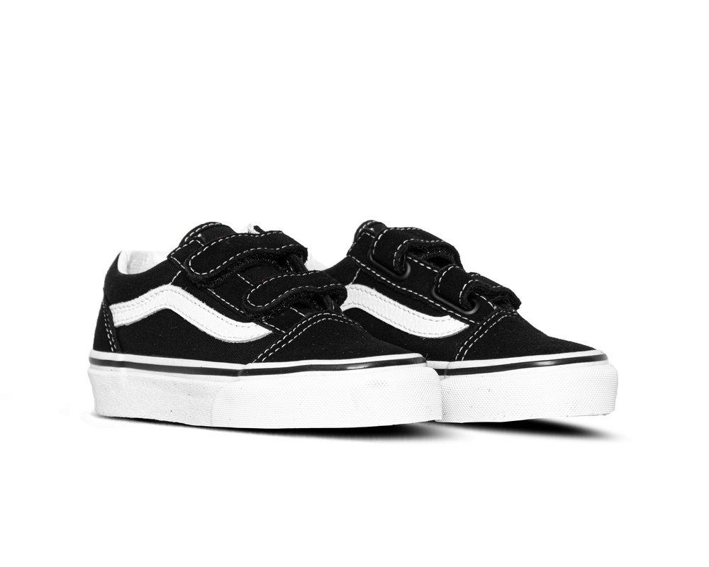 Vans Old Skool V TD Black True White VN000D3YBLK1