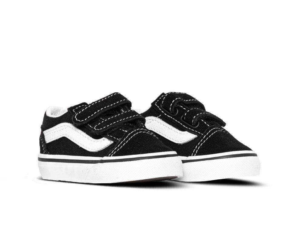 Vans Old Skool V Kids Black True White VN000VHE6BT1