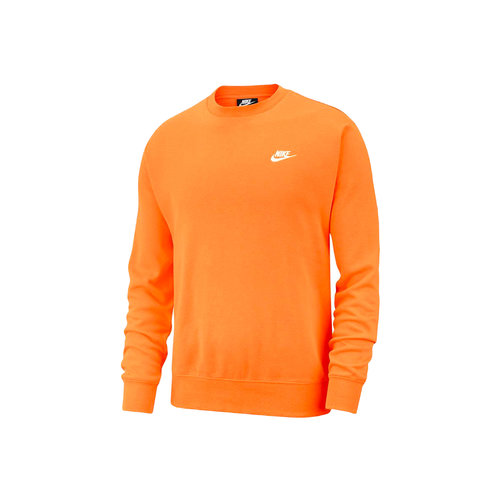 NSW Club Fleece Crewneck Electro Orange White BV2662 837