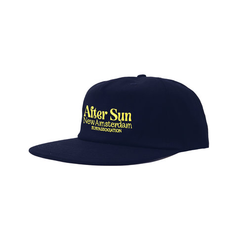 After Sun Cap Navy Black Iris