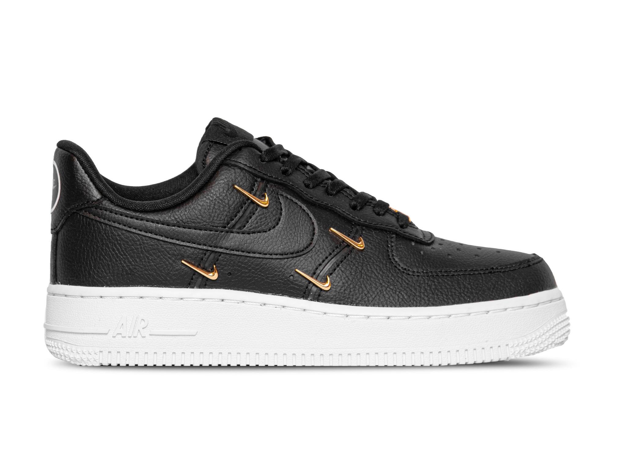 Nike Air Force 1 07 LX Black Metallic Gold Hyper Royal CT1990 001