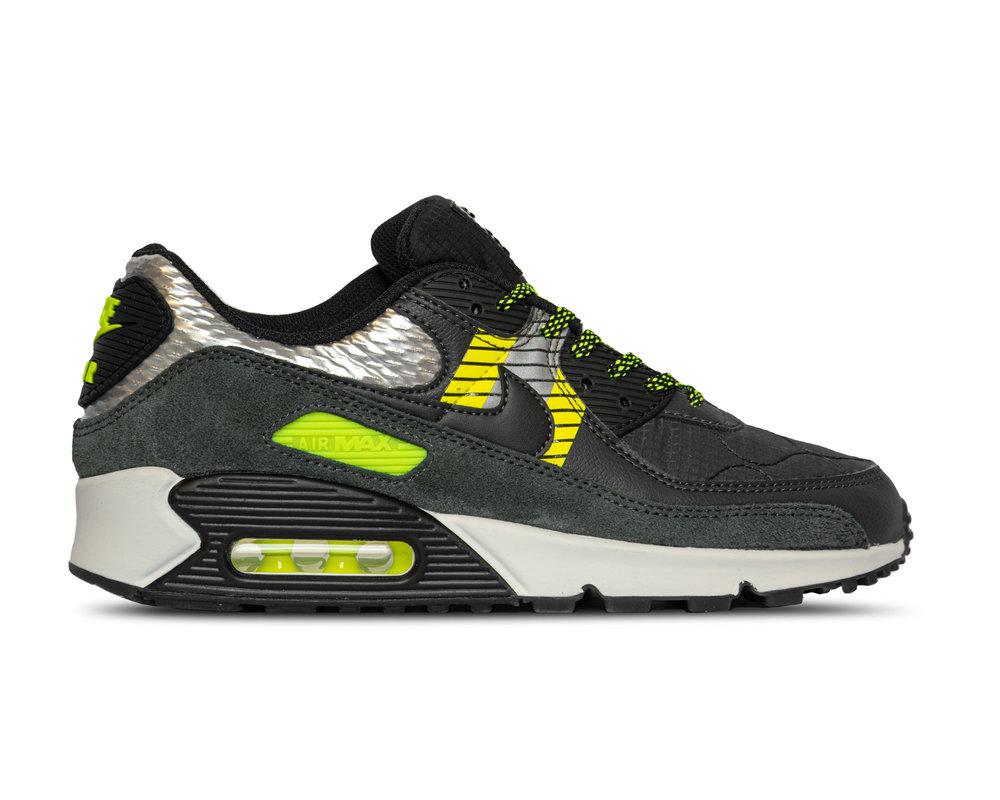 Nike Air Max 90 3M™ Anthracite Volt Black CZ2975 002