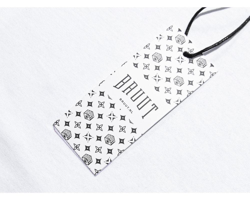 Bruut x Saša Ostoja Tee White BT1010 002