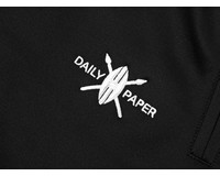 Daily Paper Tape Logo Track Pants  Black Yellow 00N1PA06 02