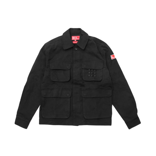 Multi Pocket Jacket Black TNO70