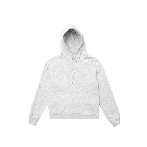 Essential Two Stripe Hoodie Grey Melange 80598781932