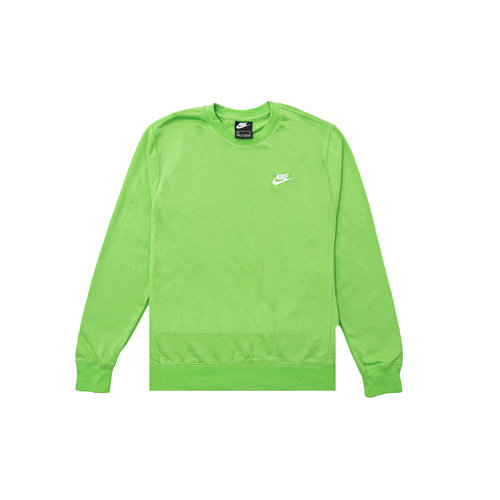 NSW Club Crewneck Mean Green White BV2666 304