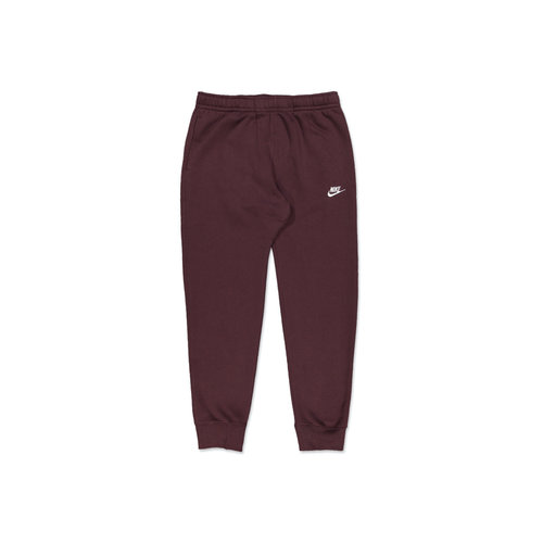 NSW Club Fleece Jogger Mahogany White BV2671 263
