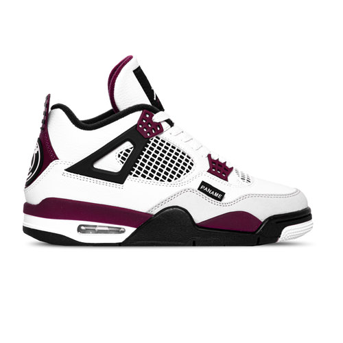 Air Jordan 4 Retro PSG White Bordeaux Neutral Grey CZ5624 100