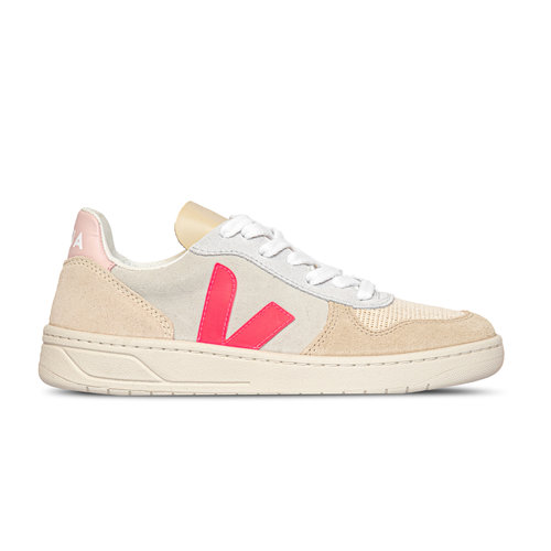 V10 Suede Multico Natural Rose Fluo Wmns VX032188A