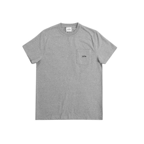 Tomi Pocket Tee Grey SS21 001T