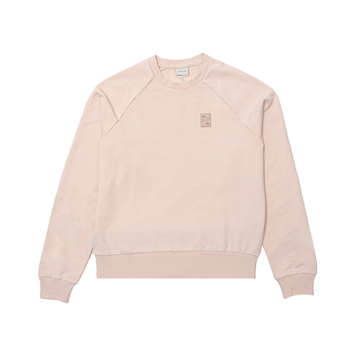 Essential Two Stripe Crewneck Eggshell 80598781689
