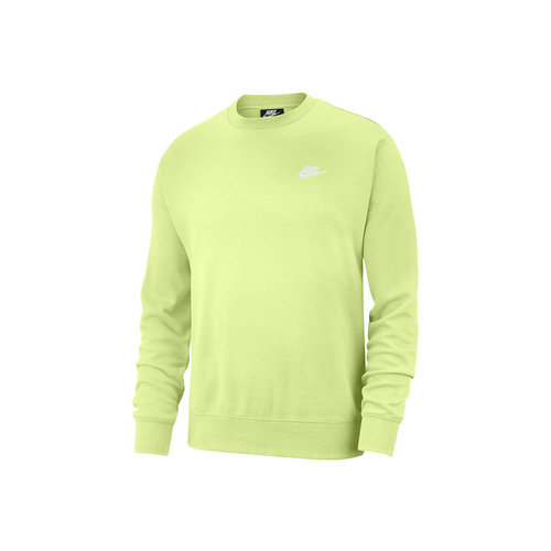 NSW Club Fleece Crewneck Liquid Lime White BV2662 383