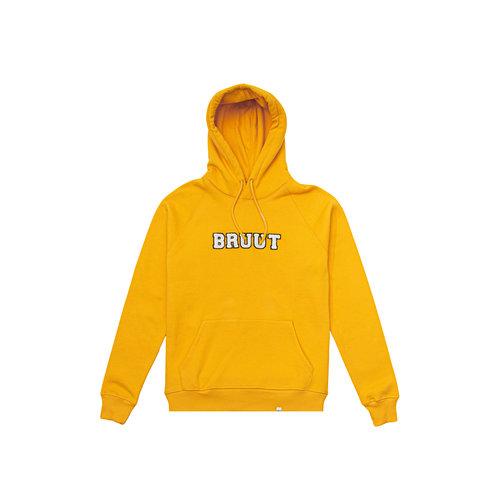 Varsity Teddy Logo Hoodie Saffron BT1030 005