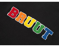 Bruut Varsity Teddy Logo Tee Black BT1030 008