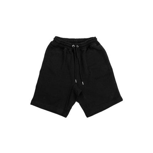 Essential Core Logo Sweat Shorts Black 80813591861