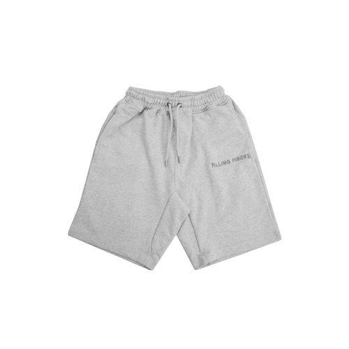 Essential Core Logo Sweat Shorts Grey Melange 80813591932