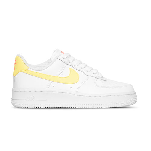 Wmns Air Force 1 '07 White LT Zitron Bright Mango White 315115 160