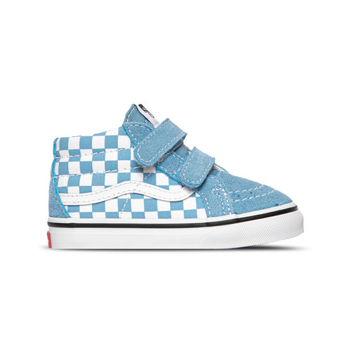 SK8 Mid Reissue V TD Checkerboard Delphinium Blue True White VN0A5DXD30Y1