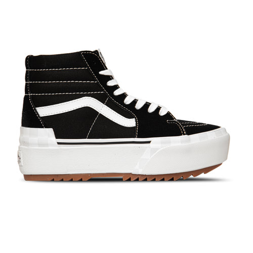 SK8 Hi Stacked Suede Canvas Black  VN0A4BTW5ZN1