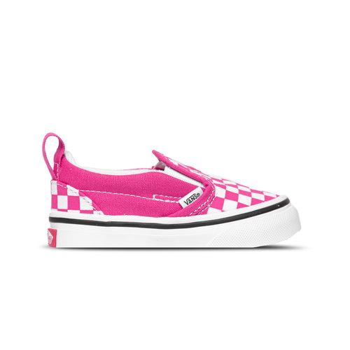 Slip On V Checkerboard Pink True White VN0A348830Z1