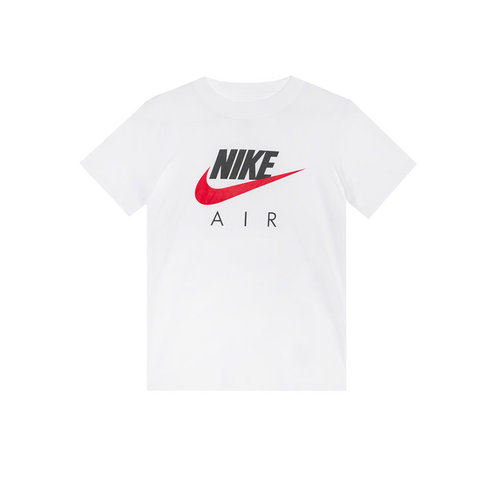 Air Tee White University Red Boys CZ1828 100