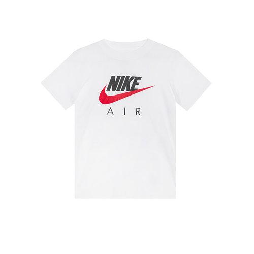 Air Tee White University Red Boys CZ1828 100