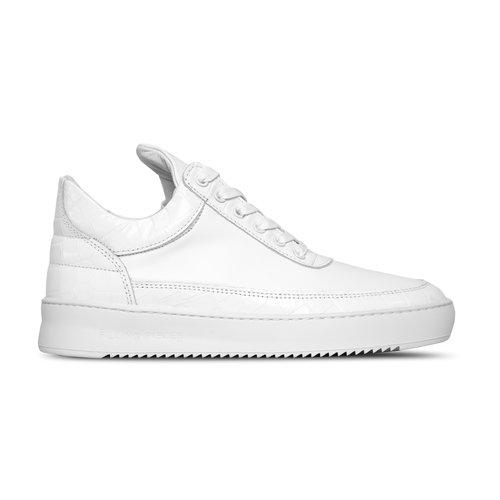 Low Top Ripple Croc White 30433161901